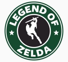 The Legend of Zelda Starbucks Edition by connietreanor