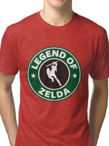 The Legend of Zelda Starbucks Edition Tri-blend T-Shirt