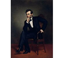 President Abraham Lincoln Painting Photographic Print