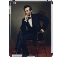 President Abraham Lincoln Painting iPad Case/Skin