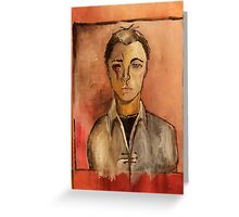 Vincent Locke  Greeting Card
