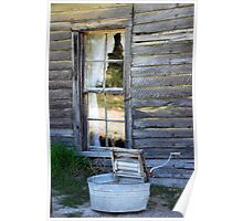 Window on Prairie Life Poster