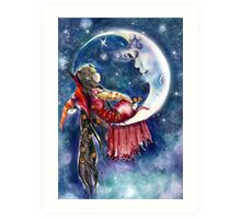 A Very Special Visit Art Print