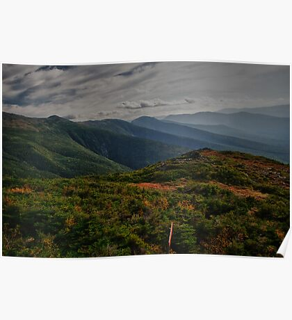 Top Of Mt Washington Poster
