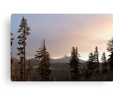 Drive By Sunset Canvas Print