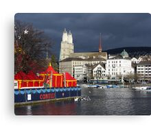 Dull weather day Canvas Print