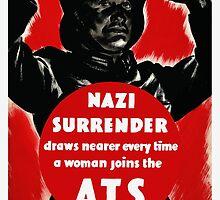 Join The A.T.S. -- WWII Propaganda by warishellstore