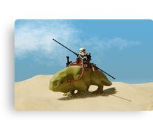 Sandtrooper Canvas Print