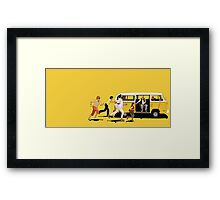 Little Miss Sunshine Framed Print