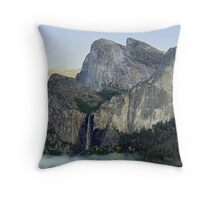 """Valley Fog"" Throw Pillow"