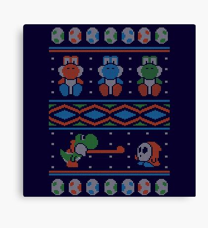 Wool is Cool. Special Christmas Ugly Sweater Canvas Print