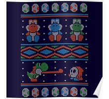 Wool is Cool. Special Christmas Ugly Sweater Poster
