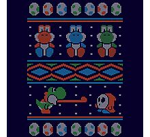 Wool is Cool. Special Christmas Ugly Sweater Photographic Print