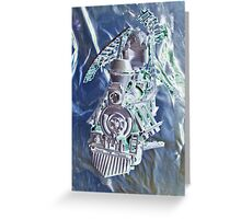 Made in America. Greeting Card