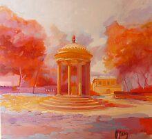 Temple of Diana by giorgiusmiron