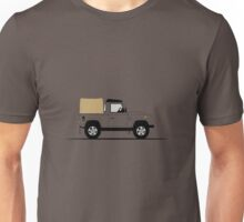 A Graphical Interpretation of the Land Rover Defender 90 Pick Up Unisex T-Shirt