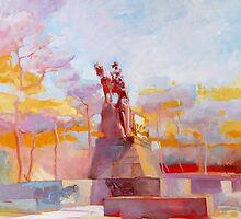 Monumento a Umberto I by giorgiusmiron