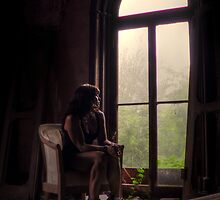 Self Portrait- Abandoned Mansion by MJD Photography  Portraits and Abandoned Ruins