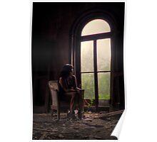 Self Portrait- Abandoned Mansion Poster