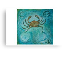 Zodiac ~ Cancer Canvas Print