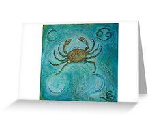 Zodiac ~ Cancer Greeting Card
