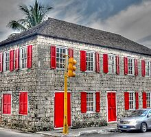 Corner of Shirley Street and Parliament Street in Nassau, The Bahamas by 242Digital