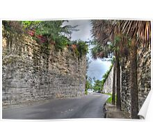 From Gambier Village to West Bay Street in Nassau, The Bahamas Poster