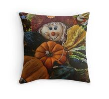 Let Fall Begin Throw Pillow