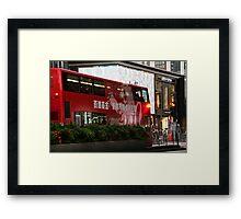City Bus  Framed Print