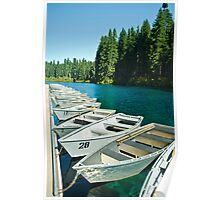 Clear Lake in Sisters, Oregon Poster