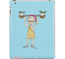 Christmas Strongman  iPad Case/Skin
