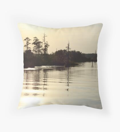 Sunset on Bear Creek 9-25-2012 Throw Pillow