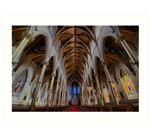CATHEDRAL OF THE HOLY CROSS Art Print