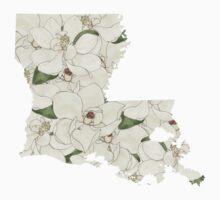 Louisiana Flowers One Piece - Short Sleeve