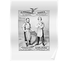 Grant And Wilson Election Poster -- 1872 Poster