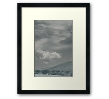 Love Me Just a Little Longer Framed Print