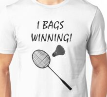 I Bags Winning! - Badminton Unisex T-Shirt