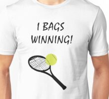 I Bags Winning! - Tennis Unisex T-Shirt