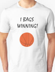 I Bags Winning! - Basketball Unisex T-Shirt
