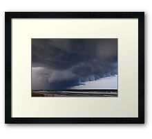 Heavy clouds Framed Print