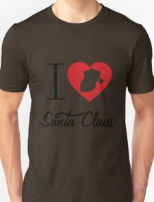 I Love Santa Claus T-Shirt
