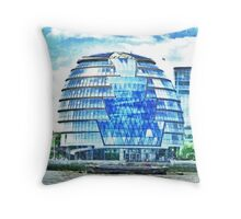London's City Hall Throw Pillow