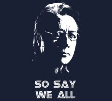 Admiral Adama : So Say We All Kids Clothes