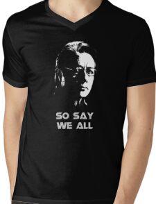 Admiral Adama : So Say We All Mens V-Neck T-Shirt