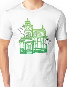 Haunted Victorian House Unisex T-Shirt