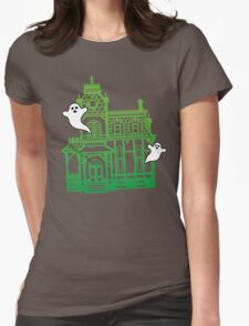 Haunted Victorian House Womens Fitted T-Shirt