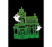 Haunted Victorian House Photographic Print