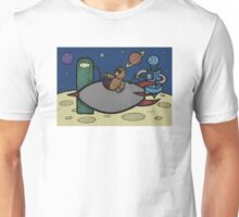 Teddy Bear And Bunny - Filler Up Unisex T-Shirt