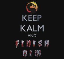 Mortal Kombat - Keep Kalm And Finish Him T-Shirt