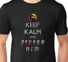Mortal Kombat - Keep Kalm And Finish Him Unisex T-Shirt